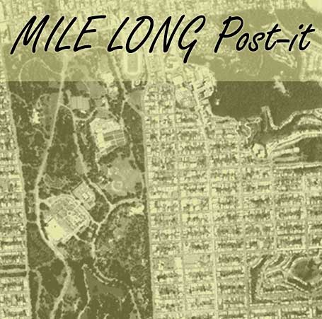 Click this image for Mile Long Post-it website